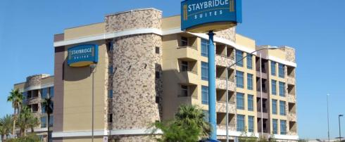 Book a room at the Staybridge Suites Las Vegas online through Book a Vegas Hotel