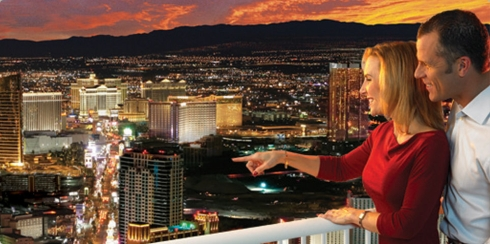 The Stratosphere Hotel, Casino and Tower in Fabulous Las Vegas